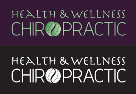 Health and Wellness logo concept